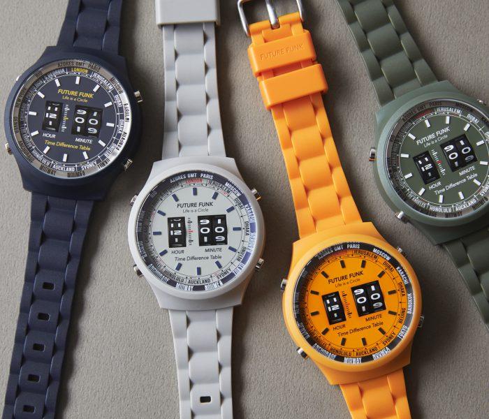 ローラー式腕時計 FUTURE FUNK に新作登場!
