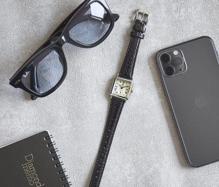 スイスデザインの腕時計xピアス